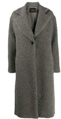 Cavallini Erika wide-lapel midi coat