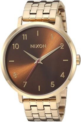 Nixon Women's Arrow Japanese-Quartz Watch with Stainless-Steel Strap