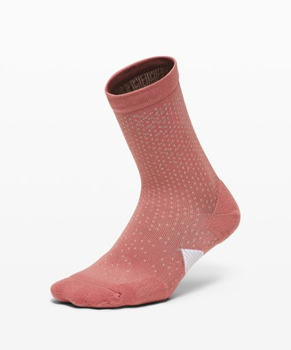 Lululemon Speed Quarter Sock *Reflective Silver
