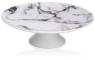 Marble Venice Fog Pedestal Cake Stand