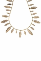 House Of Harlow Feather Necklace