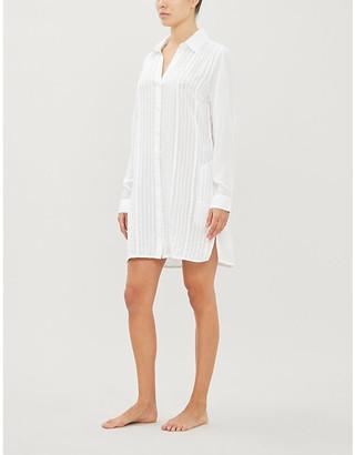 Vix Jacque cotton shirt dress