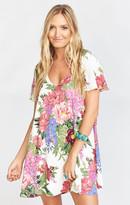 MUMU Kylie Mini Dress ~ Duchess Darling