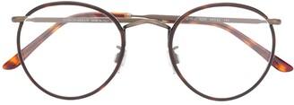 Giorgio Armani Round Frame Glasses