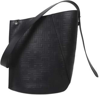 Lanvin Black Hook Bucket Bag M