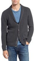 Original Paperbacks Men's 'New Yorker' Rib Shawl Collar Cardigan