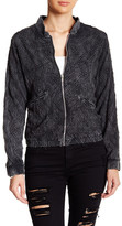 Angie Embroidered Bomber Jacket
