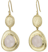 Cole Haan Double Drop Drama Stone Earrings