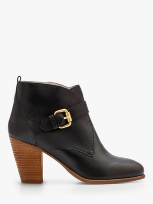 Boden Carlisle Leather Heeled Ankle Boots
