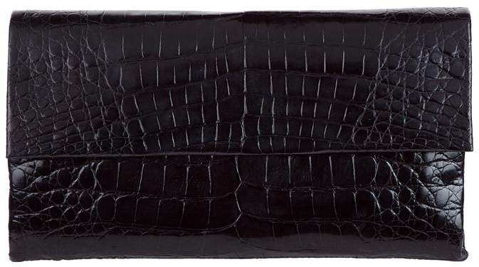 Nancy Gonzalez Small Crocodile Gotham Clutch