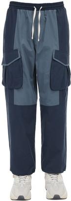 Iise Baggy Cotton & Nylon Cargo Pants
