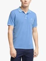Gant Oxford Sunfaded Pique Short Sleeve Polo Shirt