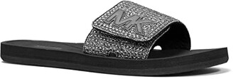 MICHAEL Michael Kors MK Slide (Ecru) Women's Sandals