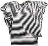 Junya Watanabe Striped Asymmetric T-shirt