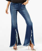 INC International Concepts I.N.C. Frayed Tulip-Hem Jeans, Created for Macy's