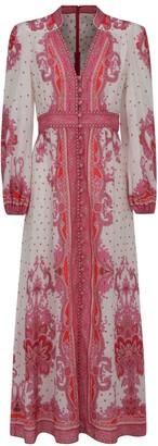 Zimmermann V-neck Long Dress