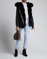 Nicole Benisti Ludlow Fox Fur Reversible Coat