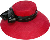 Philip Treacy bow strap hat - women - Straw - One Size