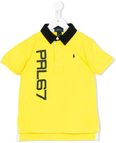 Polo Ralph Lauren contrast collar polo shirt - kids - Cotton - 2 yrs