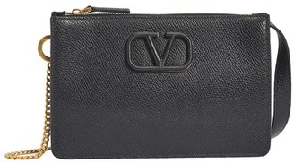Valentino V Sling clutch bag