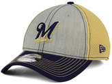 New Era Milwaukee Brewers Heathered Neo 39THIRTY Cap