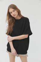 Urban Renewal Vintage Recycled Short Sleeve Shaker Sweater