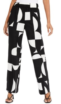 Alfani Printed Palazzo Pants, Created for Macy's