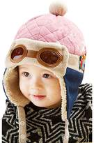 FEITONG® Cute kids Girls Boys Aviator Crochet Earflap Winter Warm Cap Hat