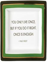 Twos Company Two's Company Wise Sayings Tray