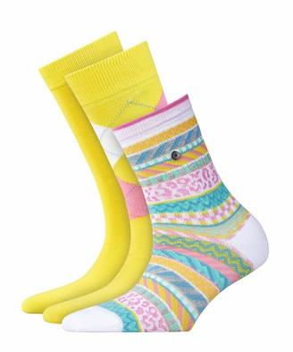 Burlington Women's Neutral Gift Set Calf Socks