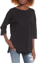 BP Women's Oversize Fleece Tee