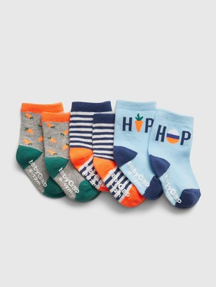 Gap Baby Star Crew Socks (3-Pack)