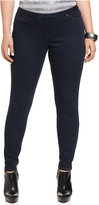 Hue Plus Size Original Denim Leggings, A Macy's Exclusive