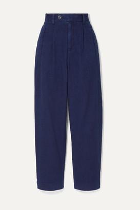 KING & TUCKFIELD Denim Tapered Pants - Storm blue