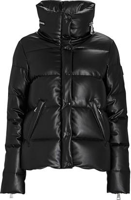 SAM. Isabel Vegan Leather Puffer Jacket