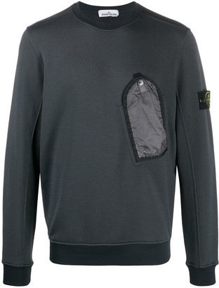 Stone Island Flap Pocket Sweatshirt