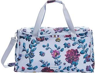 Vera Bradley ReActive Travel Duffel (Neon Ivy) Handbags
