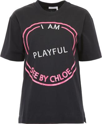 See by Chloe I Am Cheeky T-shirt