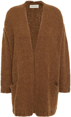 American Vintage Oversized Ribbed-knit Cardigan