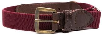 Il Gufo Two-Tone Buckle Belt