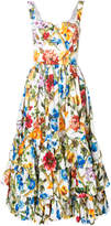 Dolce & Gabbana floral print full dress