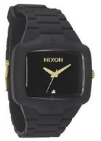 Nixon Rubber Player Watch - Men's Matte /Gold, One