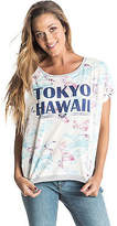 Roxy NEW ROXYTM Womens Green Tropic T Shirt Womens Tops