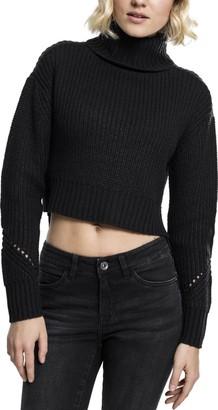 Urban Classics Women's Ladies Hilo Turtleneck Sweater