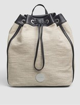 Calvin Klein Xandra Canvas Backpack