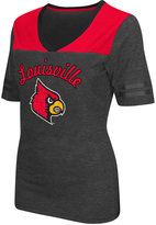Colosseum Women's Louisville Cardinals Twist V-neck T-Shirt