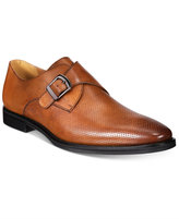 Alfani Men's Rowan Perforated Monk Strap Oxfords, Only at Macy's