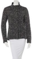 CNC Costume National Wool-Blend Textured Jacket