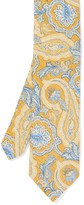 J.Mclaughlin Italian Silk & Cotton Tie in Fleur