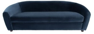 Safavieh Couture 86.6'' Wide Flared Arm Sofa Fabric: Navy